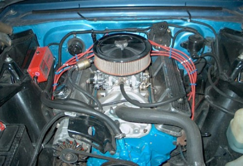 Kurtz on Front View Of A Chevy 350 Engine